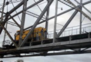 Changuinola - Image: El tren en el puente