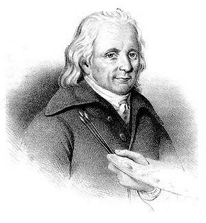 Elias Martin - Engraving by Henrik Wallgren