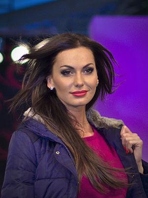 Eliška Bučková - Eliška Bučková at the Olympia Fashion Show, 2013.