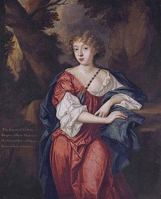 Thomas Bruce, 2nd Earl of Ailesbury - Elizabeth, Countess of Ailesbury (1656-1697)
