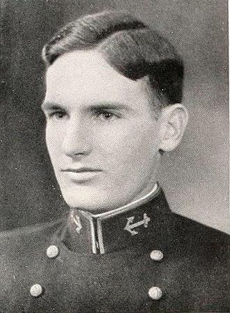 1933 NCAA Men's Basketball All-Americans - Navy's Elliott Loughlin.