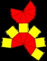 Elongated hexagonal bipyramid net.png