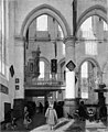 Emanuel de Witte - Interior of the Oude Kerk, Amsterdam, during a Sermon - KMS6320 - Statens Museum for Kunst.jpg
