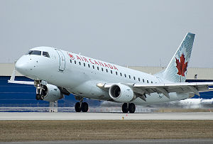 Quebec City–Windsor Corridor - Air Canada operates a large portion of the flights in the corridor