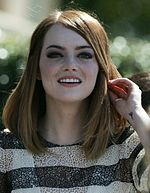 Photo of Emma Stone in 2014.