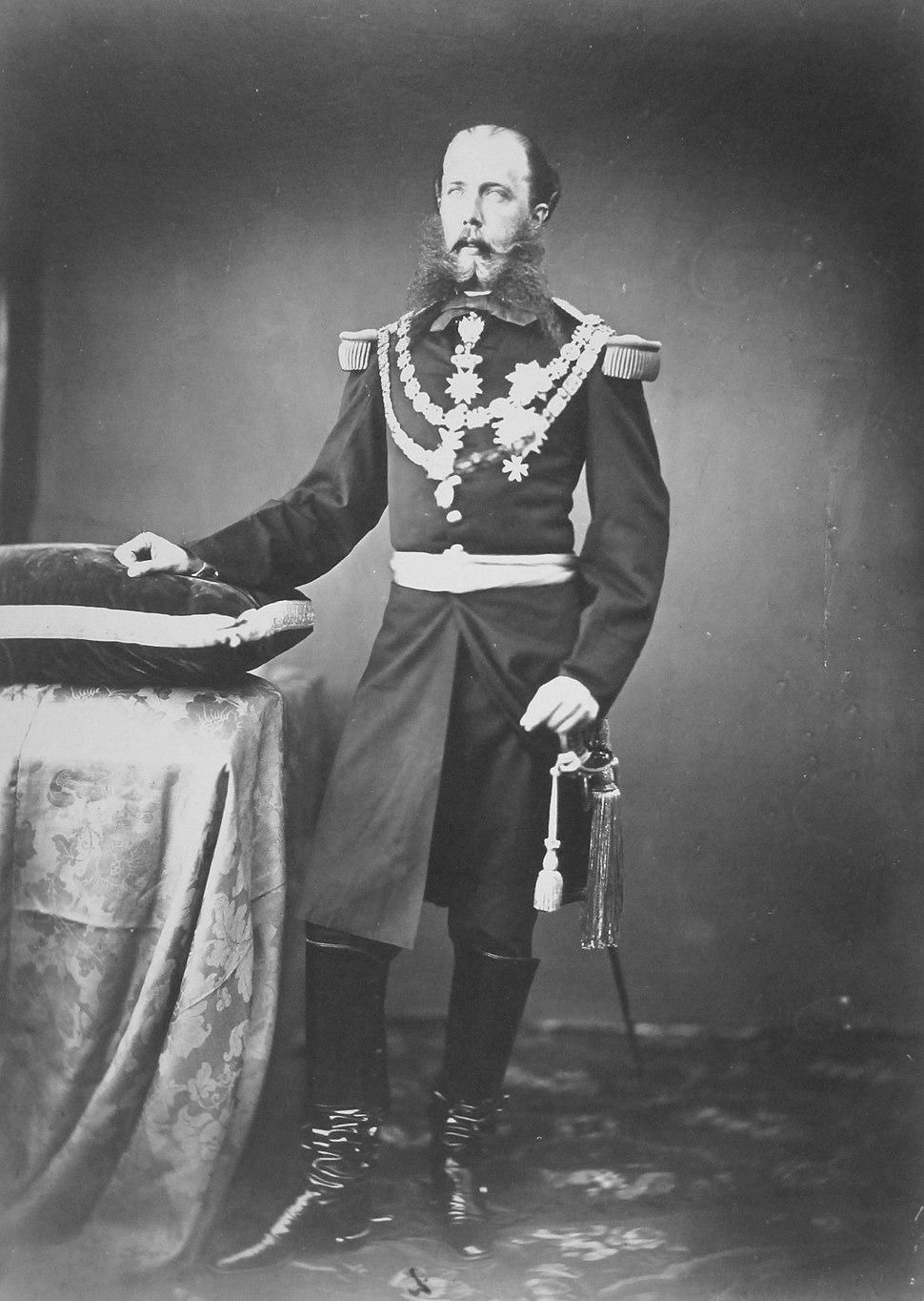 Emperor Maximiliano around 1865