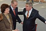 Empfang IOC Präsident Thomas Bach mit Jacques Rogge (6 von 9).jpg
