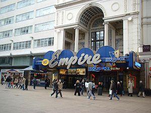 Empire Cinemas - Empire Leicester Square (old signage)