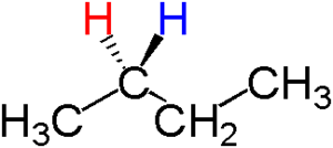 Topicity - Image: Enantiotopic 1