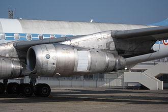 Pratt & Whitney JT3D - JT3D on a Douglas DC-8