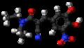 Entacapone molecule ball.png