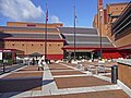 Entrance to British Library, Euston Road, London WC1 - geograph.org.uk - 1165382.jpg