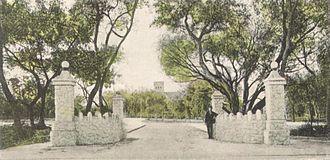 Fort Dallas - Image: Entrance to Fort Dallas Park, Miami, FL
