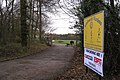 Entrance to Kenilworth Wardens sportground off Glasshouse Lane - geograph.org.uk - 1597855.jpg