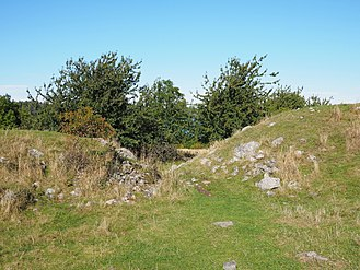 Birka - An entry point in a Viking-era defensive wall on Birka