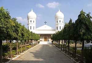 Vedanayagam Samuel Azariah - Ephiphany Cathedral, Dornakal, visioned and built by Rt. Rev. V. S. Azariah
