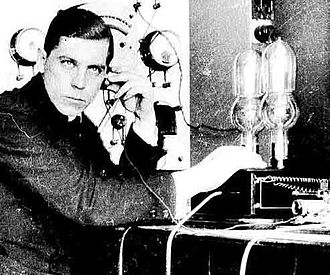 Eric M. C. Tigerstedt (1887-1925) was one of pioneers of sound-on-film technology. Tigerstedt in 1915. Eric Magnus Tigerstedt.jpg