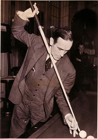 Rudolf Wanderone - Wanderone's first billiards teacher, the German champion Erich Hagenlocher