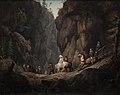 Erik Pauelsen - The Passage through Krokkleven near Ringerike in Norway - KMS968 - Statens Museum for Kunst.jpg