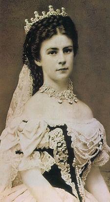 Alžběta u příležitosti uherské korunovace 4316ea34d4