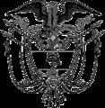 Escudo Nacional de Colombia (Sin colores).png