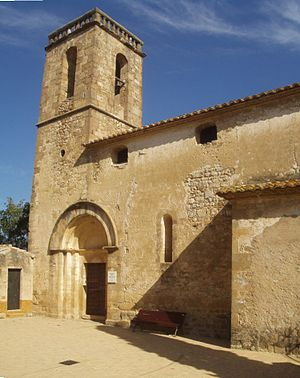 Cabanelles - Church of Santa Coloma in Cabanelles