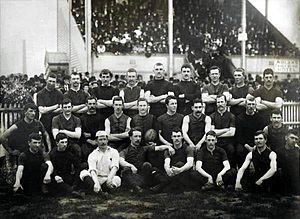 1893 Championship of Australia - The Essendon side that won the championship.