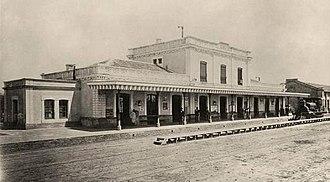 Merlo, Buenos Aires - Merlo Railway Station, 1880