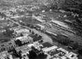 Estacion del Ferrocarril Cordoba y Noroeste. Foto aerea, 1927.png