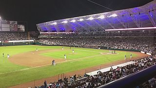 Estadio Tomateros Stadium in Culiacán, Mexico
