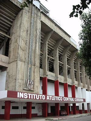 Estadio Presidente Perón - Image: Estadio Instituto
