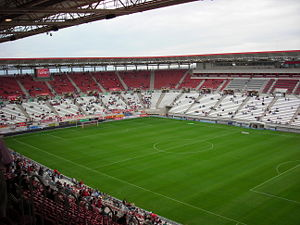 Das Estadio Nueva Condomina in Murcia