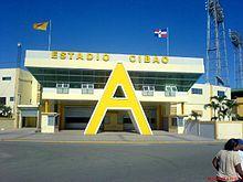 Main Entrance into Estadio Cibao home of Las Aguilas Cibaeñas