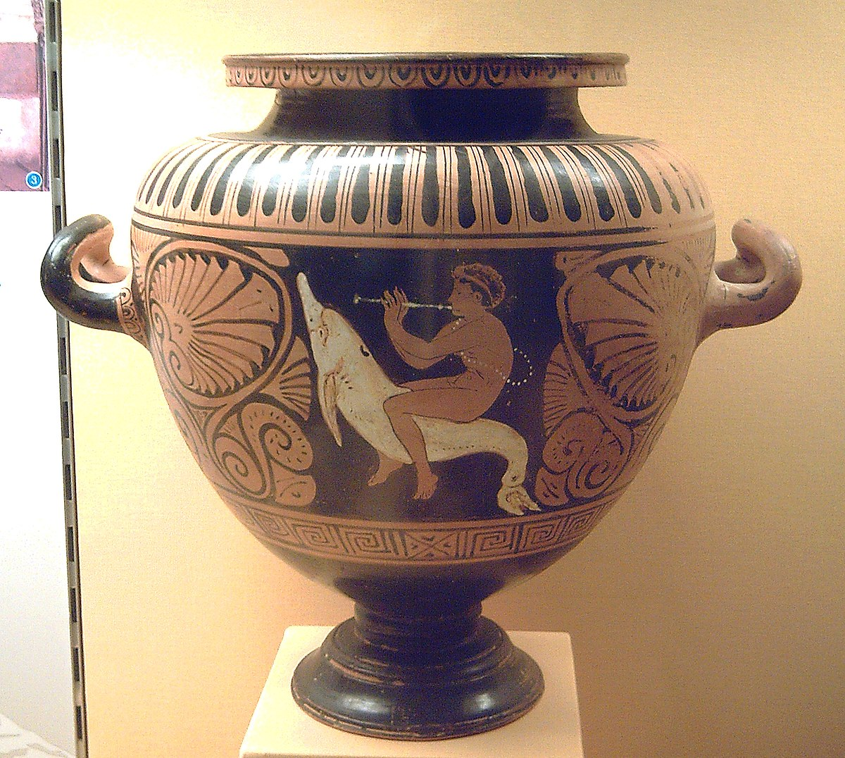 Etruscan vase painting wikipedia for Significado de ceramica