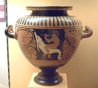 Etruscan form of ancient vase-painting