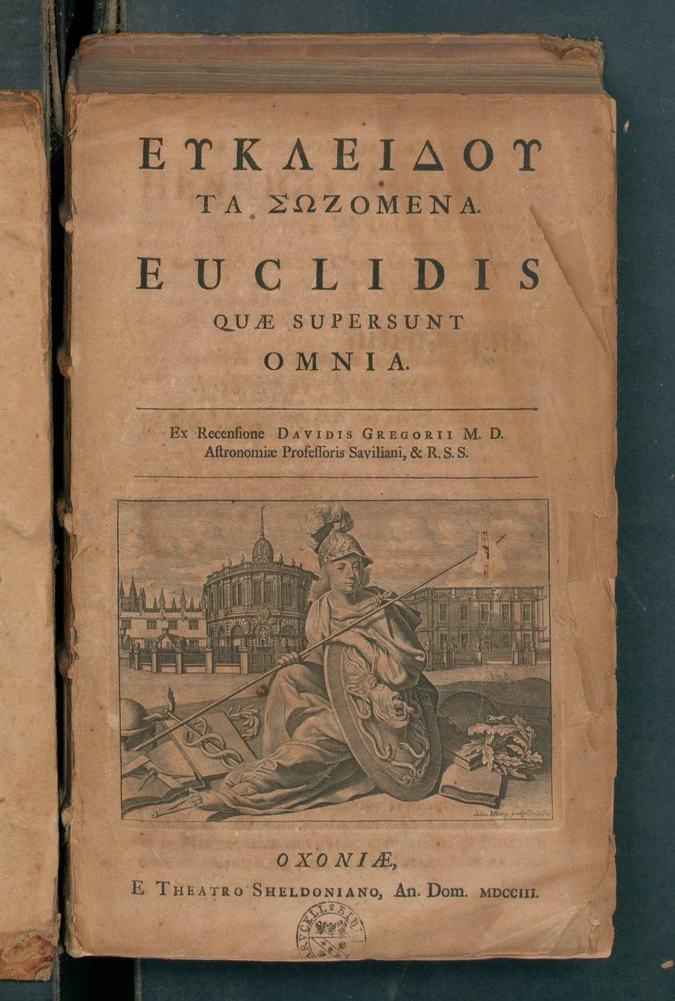 Euclidis quae supersunt omnia