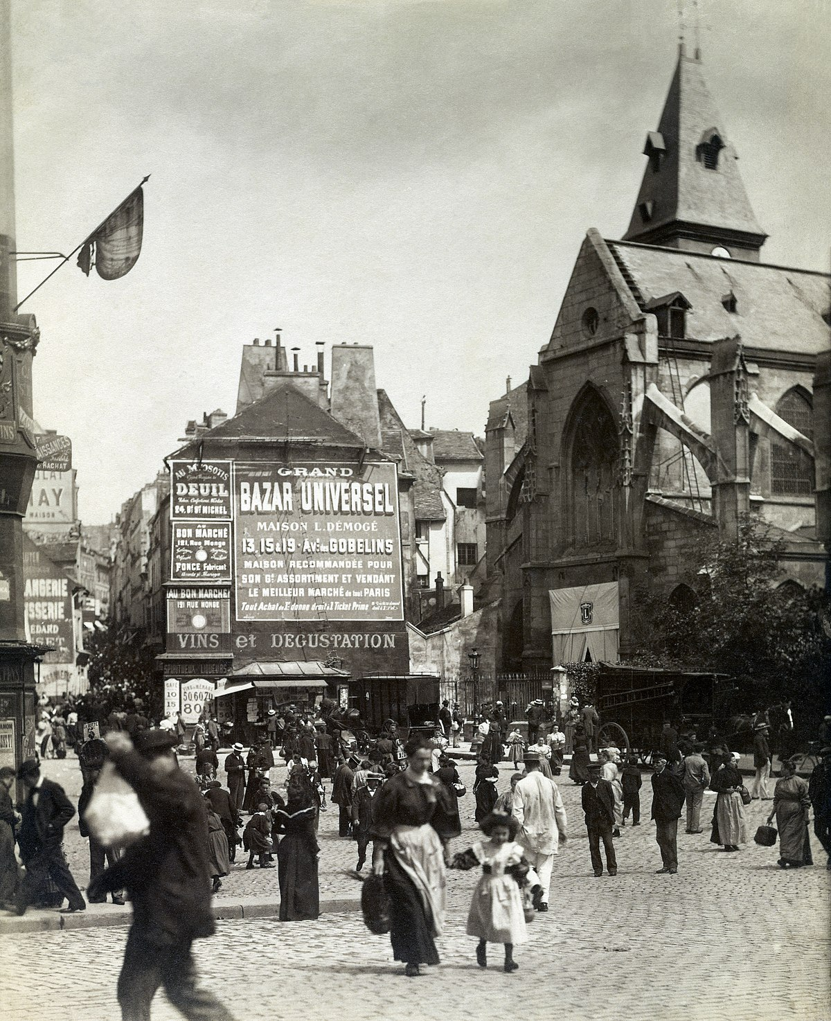 File Eugene Atget Place Saint Medard 1898 1900 Getty Museum