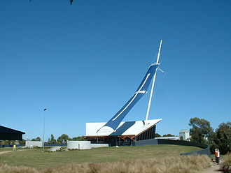 Eureka, Victoria - The Eureka Centre in 2009 prior to its redevelopment as the Museum of Australian Democracy at Eureka