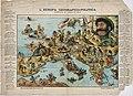 Europa geografico-politica mappa satirica 1871 circa.jpg