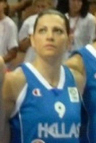 Olympiacos Women's Basketball - Image: Evanthia Maltsi