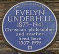 Evelyn Underhill 50 Campden Hill Square blue plaque.jpg