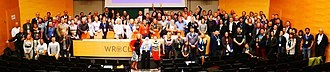 European Skeptics Congress - Everyone gathered on stage at the 17th Congress.