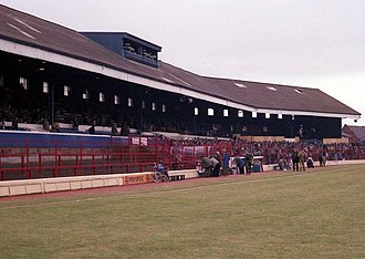 Ewood Park - Ewood Park Main Stand in 1985