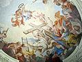 Ex-monastero della crocetta, cappella (oggi biblioteca), affreschi di vincenzo meucci 03 allegoria della croce.JPG