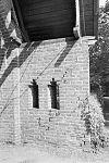 exterieur, franse poort, detail met scheuren, voor restauratie - haarzuilens - 20320577 - rce