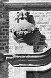 exterieur detail van ingang omlijsting - raamsdonk - 20304349 - rce