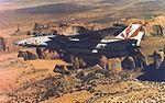 F-14A Tomcat of VF-111 in flight c1984.jpg