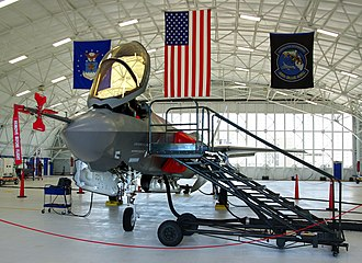 46th Test Wing - F-35 on display during its first visit to Eglin and the 46th Test Wing
