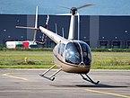 F-HJPR R44 Raven II take off from Colmar - Houssen Airport (IATA=CMR, ICAO=LFGA), photo 2.JPG