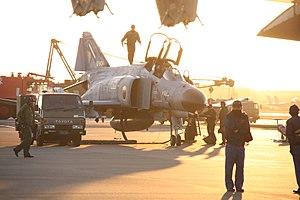 301st Tactical Fighter Squadron (JASDF) - F-4EJ Kai at Nyutabaru (2009)